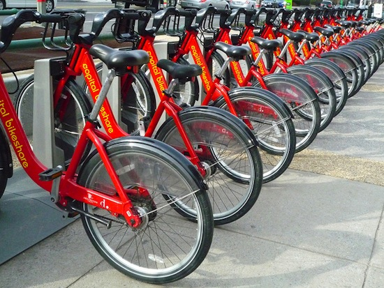 Bikes similar to these will soon be coming to Vancouver.  Photo credit: adminspotter | Flickr