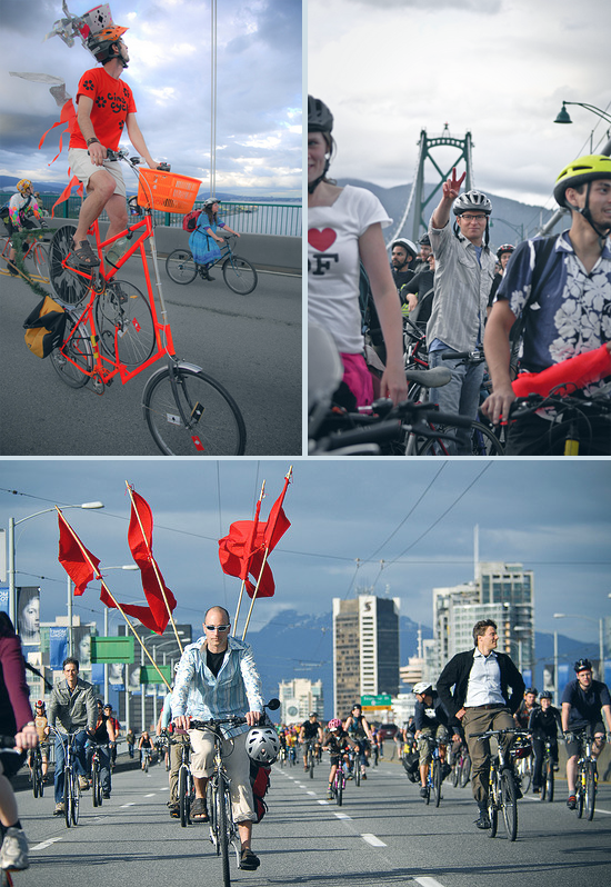 Critical Mass Vancouver 2013