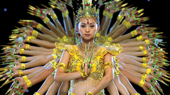 An image from Samsara, one of the films screening with the International Buddhist Film Festival. Image courtesy VIFF.