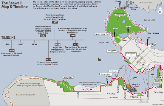 Seawall Map