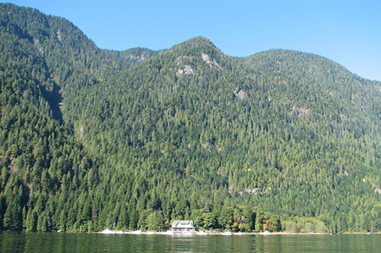 A view of Wigwam Inn up Indian Arm Photo credit: mckaysavage/Flickr