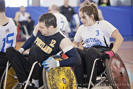 Jessica Kruger, Wheelchair Rugby Athlete & Ambassador | Photo: Erin Wild Photography