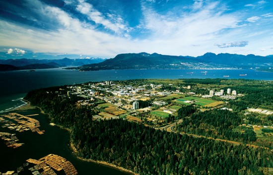 UBC Campus vancouver
