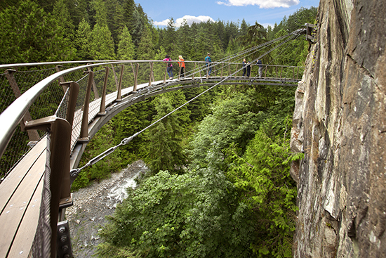 Photo credit: Capilano Suspension Bridge