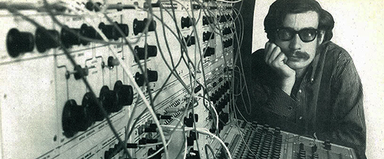 Donald Buchla inventor of numerous electronic music instruments