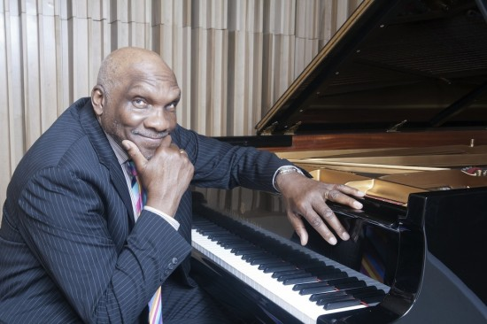 Legendary pianist Harold Mabern helps the Cellar Jazz Club celebrate its 13th anniversary this weekend. Photo credit: Alan Nahigian.