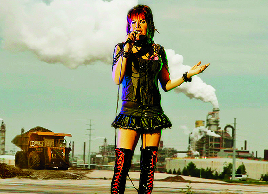 Oil Sands Karaoke Photo credit: VIFF