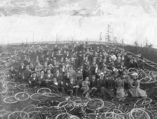 Terminal City Cycling Club c.1892