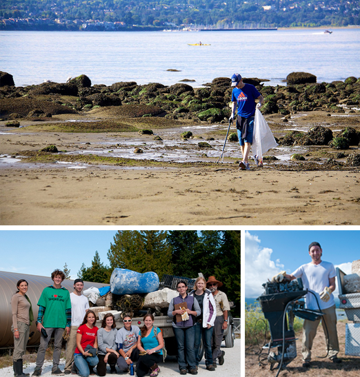 Canadian Shoreline Cleanup Vancouver