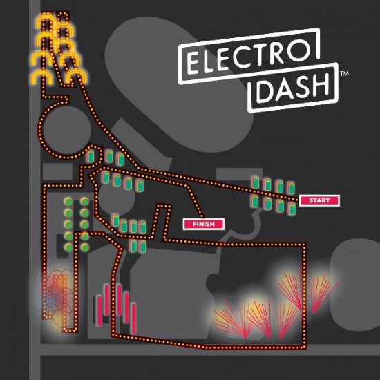 ElectroDash Vancouver course map