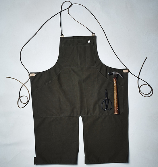 Glasnost waxed cotton overalls Photo credit: Circle Craft