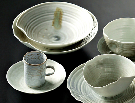 Haejin Lee's English Bay-like tableware Photo Credit: Circle Craft
