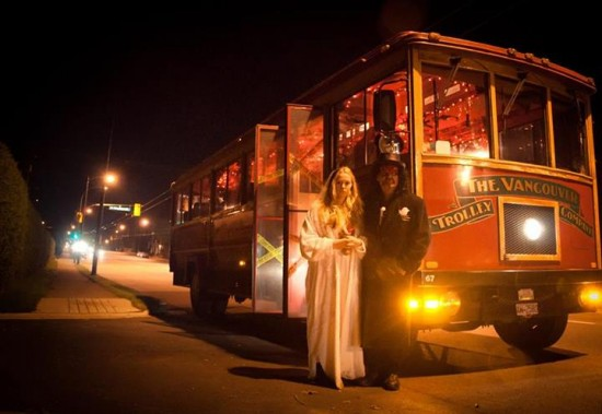 Haunted Vancouver Trolley Tour | Things To Do In Vancouver This Weekend