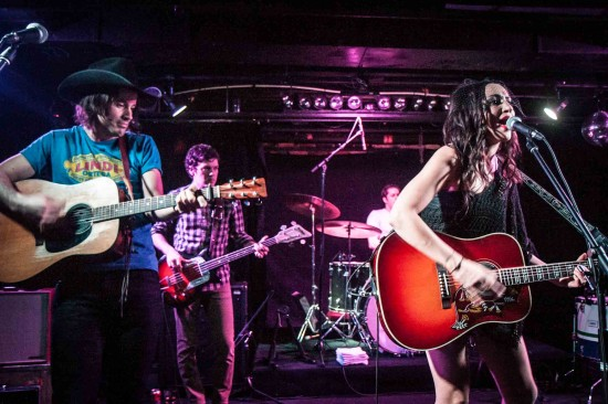 Lindi Ortega at the Biltmore Cabaret, Vancouver Feb 22 2013. Photo credit: Christine Redmond.