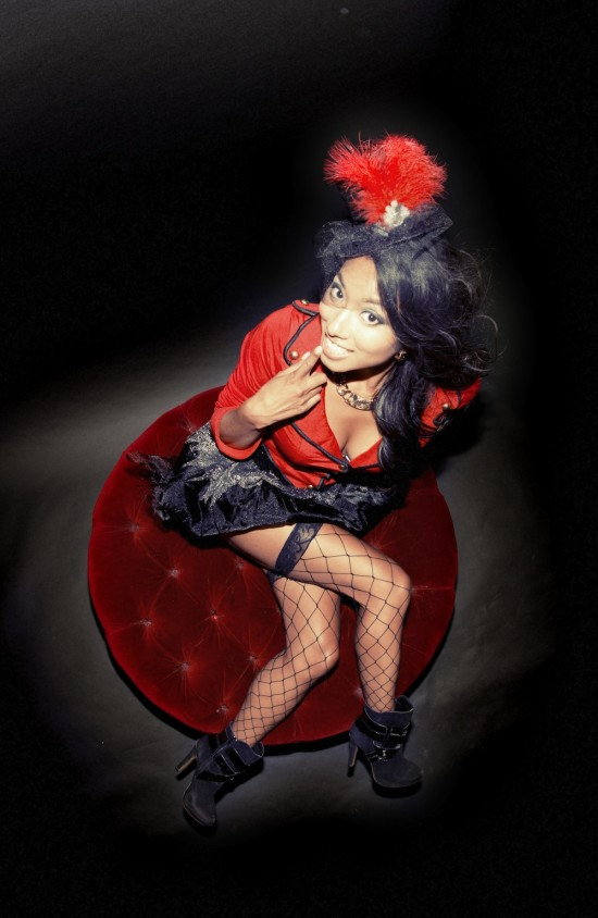 Donna Bennedicto performs with the High On Life Circus Friday Nov. 8 at Venue. Photo courtesy Blueprint Events.