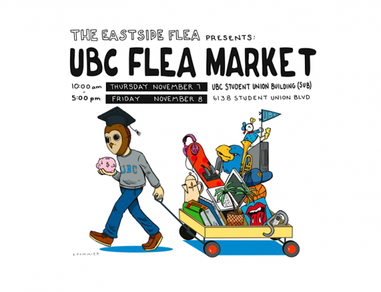 Eastside Flea x UBC Flea Market | Things To Do In Vancouver This Weekend