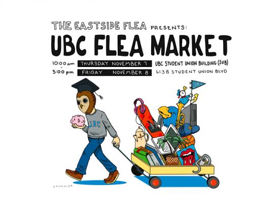 Eastside Flea x UBC Flea Market | Things To Do In Vancouver This Weekend