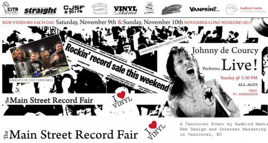 Main Street Record Fair | Things To Do In Vancouver This Weekend