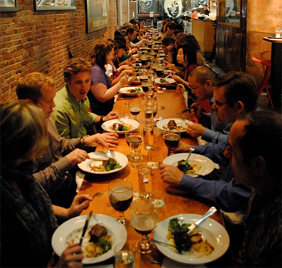 Cool Places In Vancouver To Eat: Comfort Dining: The Irish Heather's Long Table Series