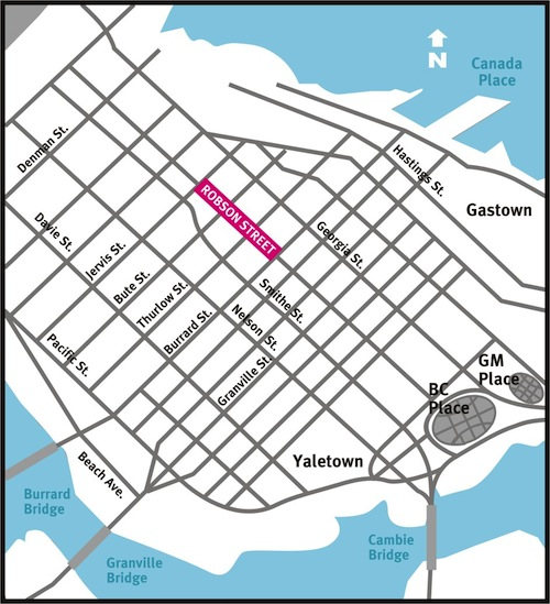 100210 robson downtown map