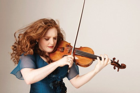 Rachel Barton Pine performs The Four Seasons as part of the VSO's holiday concert series. Photo courtesy Vancouver Symphony Orchestra.
