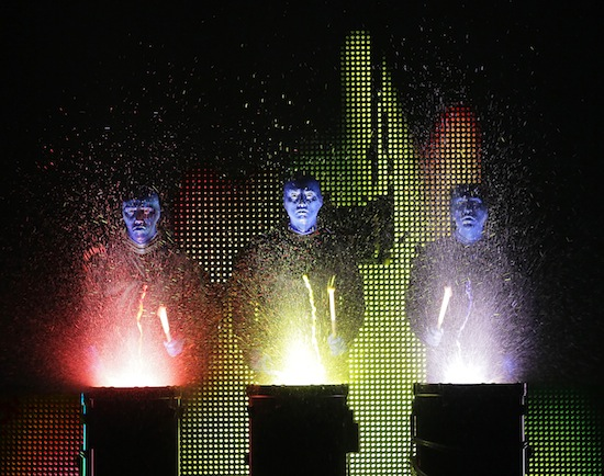 Blue Man Group Vancouver 2014