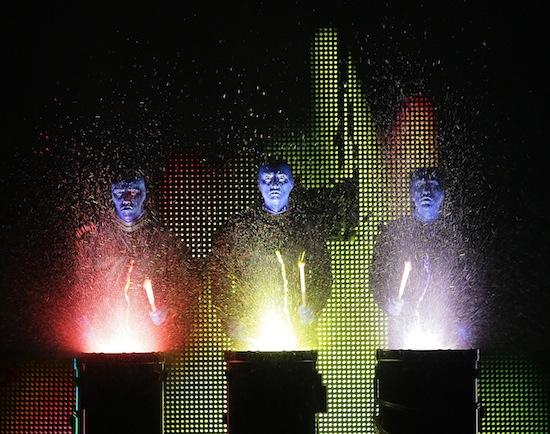Blue Man Group Vancouver 2014