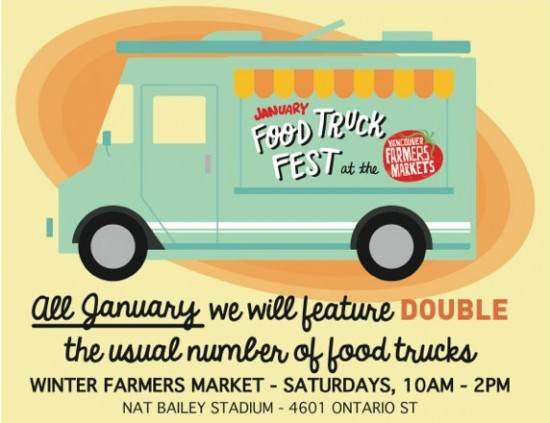 Winter Farmers Market Food Truck Fest | Things To Do In Vancouver This Weekend