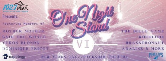 One Night Stand VI | Vancouver New Year's Eve Top Events