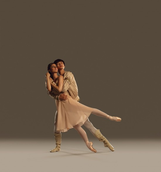 Romeo + Juliet features two star-crossed lovers without cellphones. Photo courtesy Royal Winnipeg Ballet.