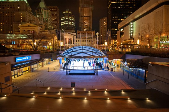 Robson Square Ice Skate | Things To Do In Vancouver This Weekend