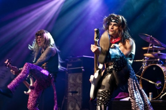 Steel Panther at the Commodore Ballroom, Vancouver, March 9 2011. Photo: Jade Dempsey.