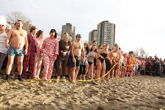 Vancouver Polar Bear Swim | Vancouver New Year's Eve Top Events