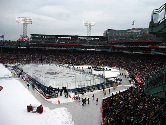 The 2010 Winter Classic in Boston.  Photo credit: misconmmike | Flickr