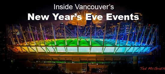 Vancouver New Year's Eve Top Events