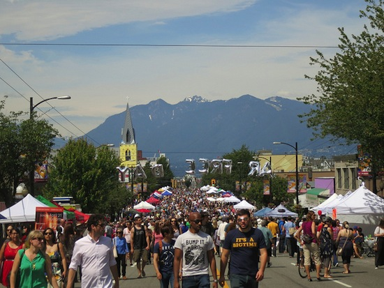 Summer Car Free Day along Main Street. Photo credit:  Ruth and Dave on Flickr.