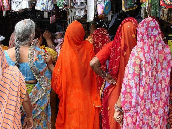 Women wearing saris in India. Photo credit: Adam Jones, Ph.D. - Global Photo Archive   Flickr