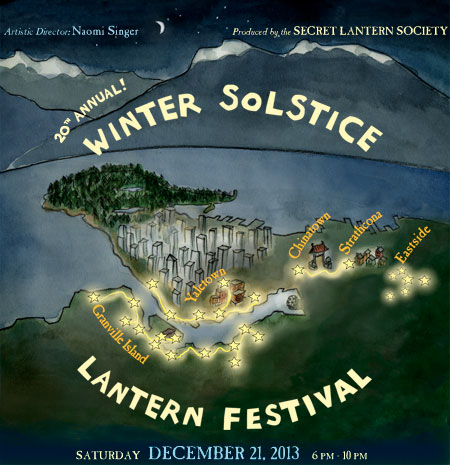 Winter Solstice Lantern Festival Vancouver 2013