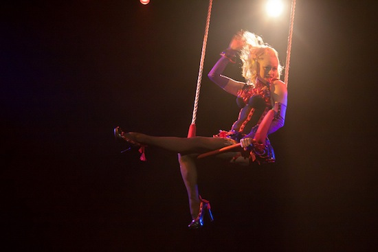 Sultry aerialists like this one may soon be coming to Granville Street.  Photo credit: Chris Blakeley | Flickr