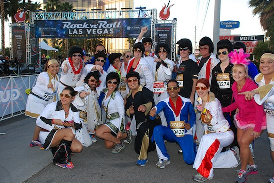The Rock 'n' Roll Marathon Series, shown here in Las Vegas, is coming to Vancouver. Photo credit: c&rdunn | Flickr