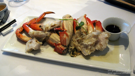 Dungeness Crab: in season now! Photo credit: Andree Lau