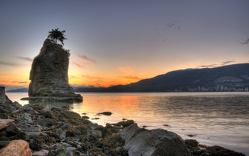 Siwash Rock | Stanley Park | Things To Do In Vancouver This Weekend