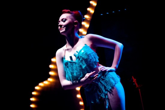 Voodoo Pixie at Beatles Burlesque at Vancouver FanClub