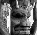 Aboriginal art will be on display at the Skwachays Lodge. Pictured here: a totem pole in the Museum of Anthropology at UBC. Photo credit: Hendl | Flickr