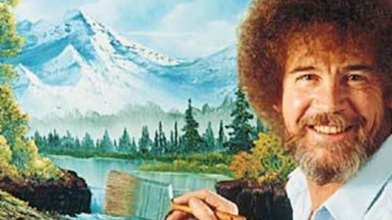 Bob Ross, the host of the PBS show The Joy of Painting, is the subject of a new art show opening tonight in Vancouver.