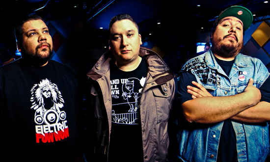 A Tribe Called Red will perform at the Commodore February 21 & 22 Photo Credit: Athena ANASTASIOU