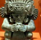 Fake versions of ancient Mexican urns (like the real one shown here) are on display in Surrey.  Photo credit: opacity | Flickr