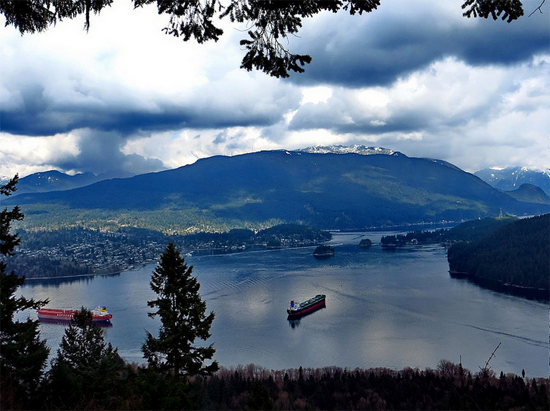 View of Deep Cove from Burnaby Mountain Park. Photo Credit: wynonna via Flickr