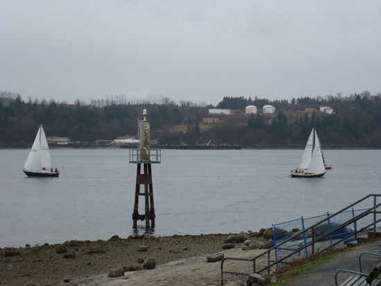 Cates Park Sailboats. Photo Credit: Lilian Sue