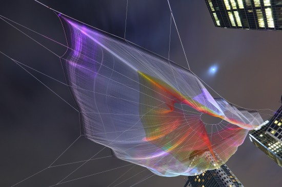 Janet Echelman - Skies Painted With Unnumbered Sparks | Things To Do In Vancouver This Weekend